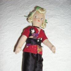 Muñeca española clasica: ANTIGUA MUÑECA DE TRAPO. MARI PEPA MENDOZA?. Lote 82662668