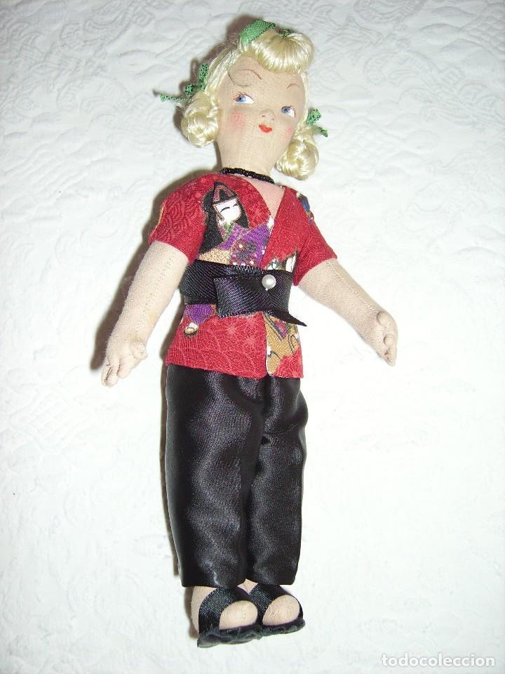 Muñeca española clasica: Antigua muñeca de trapo. MARI PEPA MENDOZA? - Foto 2 - 82662668