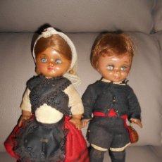 Muñeca española clasica: MUÑECO LINDO PIRULO AÑOS 60 REGIONAL MUÑECAS ALBA LINDA PIRULA REGIONAL GALLEGO. Lote 83589628