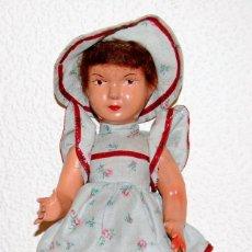 Muñeca española clasica: MUÑECA PEPONA CARTON PIEDRA AÑOS 30-403. Lote 83825032