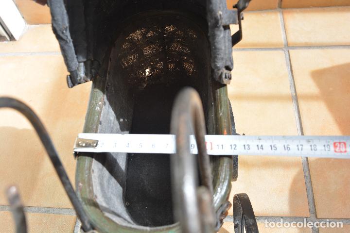 Muñeca española clasica: Antiguo Coche - Carro Muñecas - Cochecito Muñeca - Madera Y Hierro - Foto 8 - 84741232