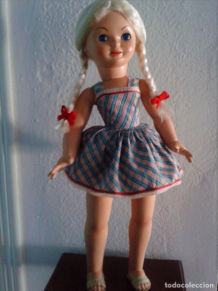 Muñeca española clasica: PRECIOSA PIERINA (MARISOL) AÑOS 60 ,TODO ORIGINAL . - Foto 2 - 85337144