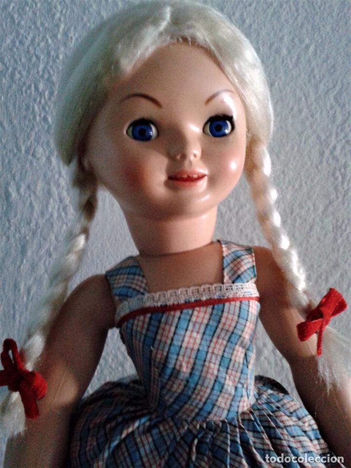 Muñeca española clasica: PRECIOSA PIERINA (MARISOL) AÑOS 60 ,TODO ORIGINAL . - Foto 3 - 85337144