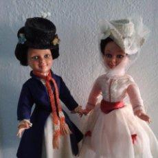 Muñeca española clasica: LOTE DE DOS MODELOS DE MUÑECAS ,MARY POPPINS ORIGINALES ,W.DISNEY ,AÑO 1966. Lote 85338196