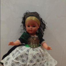 Muñeca española clasica: MUÑECA TIPO TORTUGA AÑOS 50. Lote 85662288