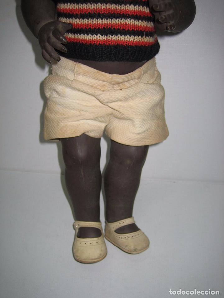 Muñeca española clasica: Antiguo muñeco de vinilo. Marca JC-SA. Altura 53cm - Foto 6 - 85918424
