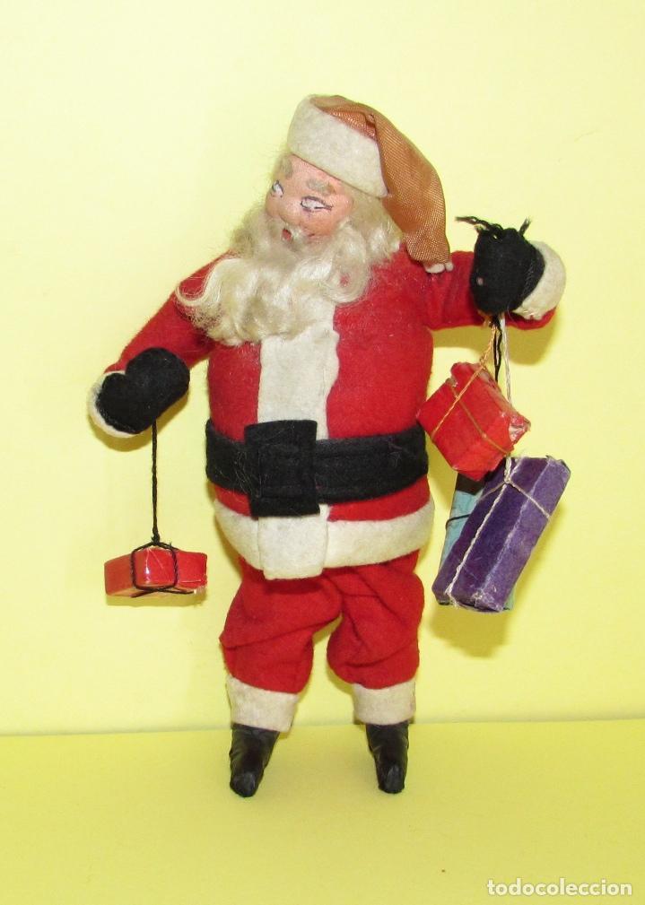 Fotos Simpaticas De Papa Noel.Roldan Klumpe Papa Noel Muneco De Fieltro Sold At