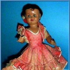 Muñeca española clasica: MUÑECA TERESIN DE DURPE.AÑOS 50. Lote 89739828