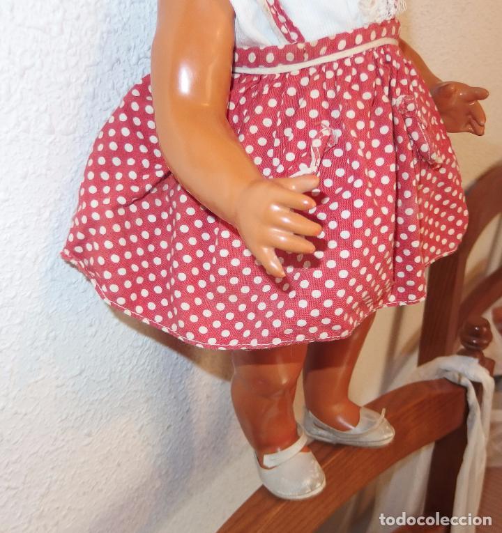Muñeca española clasica: LAURA DE SERAFÍN VICENT CALVO,ANDADORA,AÑOS 40 - Foto 6 - 90047192