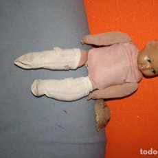 Muñeca española clasica: ANTIGUA MUÑECA PARA ARREGLAR TRAPO RELLENO Y CARTON . Lote 90209560