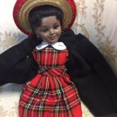 Muñeca española clasica: MUÑECA ANTIGUA NEGRITA. Lote 90575498
