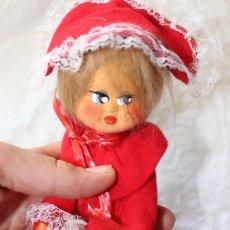 Muñeca española clasica: ANTIGUA MUÑECA DE ALAMBRE, TELA Y FIELTRO DE MUÑECAS LAYNA. Lote 90982705