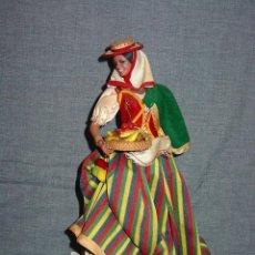 Muñeca española clasica: MUÑECA DE MARIN CHICLANA. ¿CANARIAS? AÑOS 30-40. . Lote 91937445