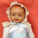 Muñeca española clasica: MUÑECO BEBE QUIQUE CON MECANISMO LLORON. AÑOS 60. Lote 94314718