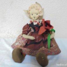 Muñeca española clasica: ANTIGUA MUÑECA DE TRAPO Y FIELTRO. Lote 96754239
