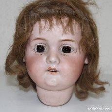Muñeca española clasica: MUÑECA LEHMANN Y CÍA. PORCELANA Y COMPOSICIÓN. NECESITA RESTAURACIÓN. ESPAÑA. PRINC. S. XX. Lote 96760191