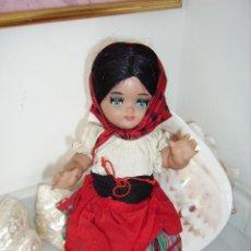 Muñeca española clasica: LINDA PIRULA CON TRAJE REGIONAL. Lote 96915819