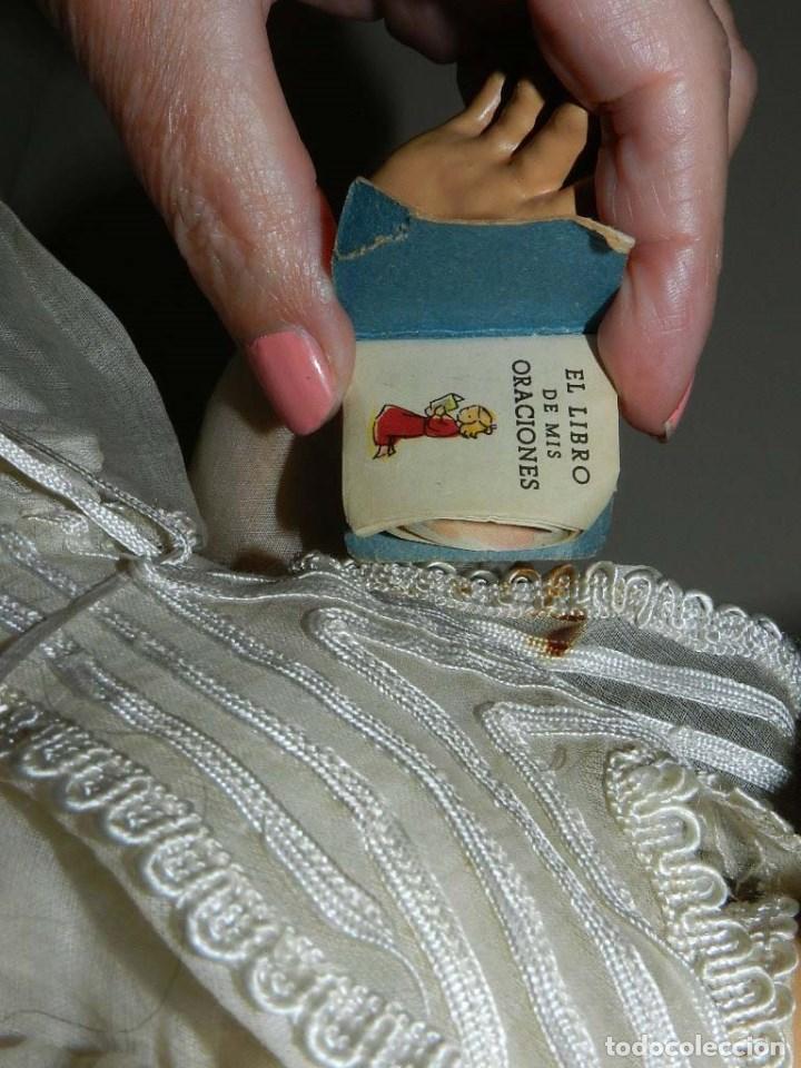Muñeca española clasica: BONITA MUÑECA DE SANTIAGO MOLINA, FINALES DE LOS 40 - MUY SIMILAR A MARICELA- OJO DURMIENTE, CON - Foto 6 - 97668083