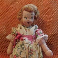 Muñeca española clasica: MUÑECA VALENCIANA FALLERA,MARI PEPA,AÑOS 40 Ó 50. Lote 102770955
