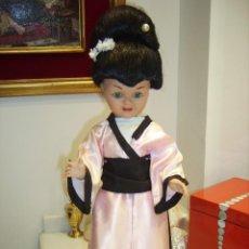 Muñeca española clasica: TERESIN, GEISHA, MUÑECA ESPAÑOLA, AÑOS 50. . FABRICANTE DURA. Lote 98120223