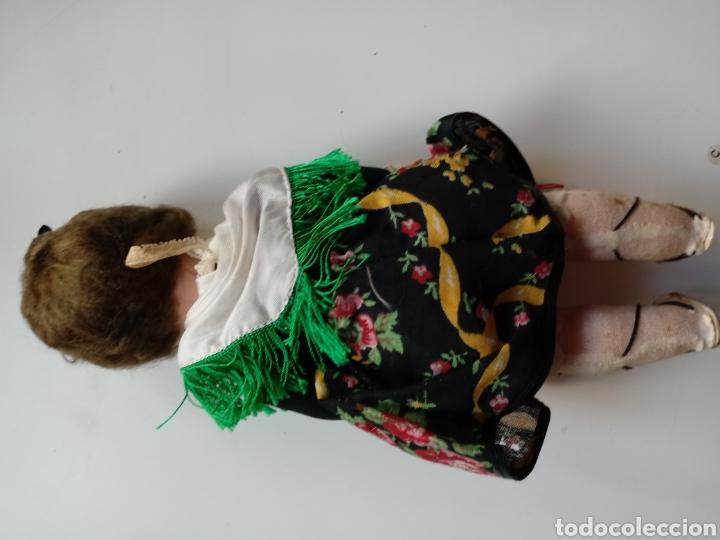 Muñeca española clasica: muñeca antigua de celuloide y plastico regional 26 cm - Foto 4 - 98144646