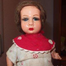 Muñeca española clasica: RARO TAMAÑO DE MUÑECA PAGÉS DE CARTÓN,SELLADA,AÑOS 30. Lote 98667051