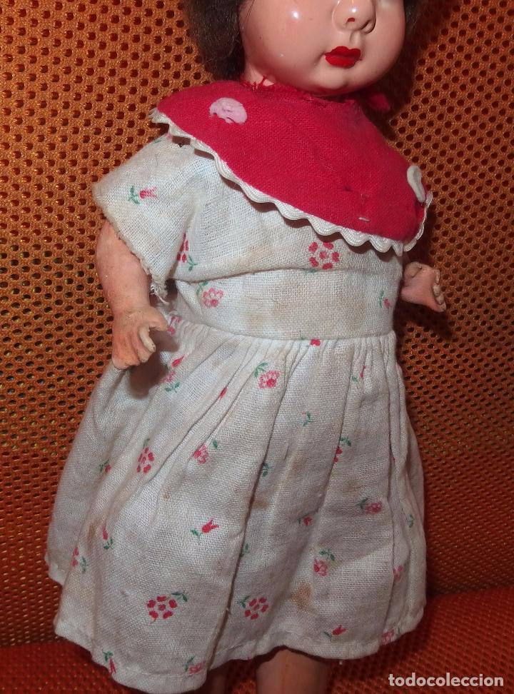 Muñeca española clasica: RARO TAMAÑO DE MUÑECA PAGÉS DE CARTÓN,SELLADA,AÑOS 30 - Foto 4 - 98667051
