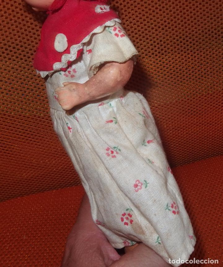 Muñeca española clasica: RARO TAMAÑO DE MUÑECA PAGÉS DE CARTÓN,SELLADA,AÑOS 30 - Foto 5 - 98667051