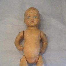 Muñeca española clasica: MUÑECO - BEBE PEPÓN DE CARTÓN AÑOS 30. Lote 98701311