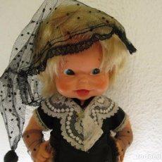 Muñeca española clasica: MUÑECA POMPITA DE FLORIDO CON SU ROPA ORIGINAL. Lote 98751695