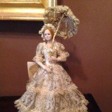 Muñeca española clasica: PRECIOSA MUÑECA AURORA DE MARIN (42 CM). Lote 98859375