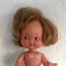 Muñeca española clasica: RAPUNCIÑA 1969 MUÑECA FAMOSA PRIMERA ÉPOCA SIN MARCAR 30 CM BRAGA ORIGINAL . Lote 98884555