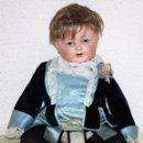 Muñeca española clasica: BEBE DE BADALONA DE PRINCIPIOS SIGLO XX (1920) CON MARCAS EN LA NUCA B/000. Lote 99522243