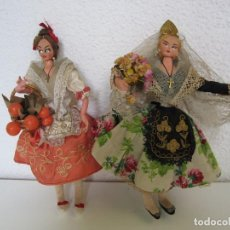 Muñeca española clasica: ORIGINAL CONJUNTO DE MUÑECA LAYNA Y MUÑECA MARY. Lote 100341035