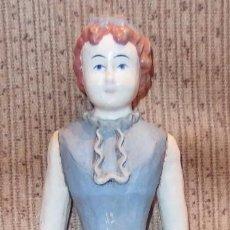Muñeca española clasica: MUÑECA DE MADERA,ESTILO VICTORIANO,PARA VESTIR,DE LOS AÑOS 20. Lote 100372459