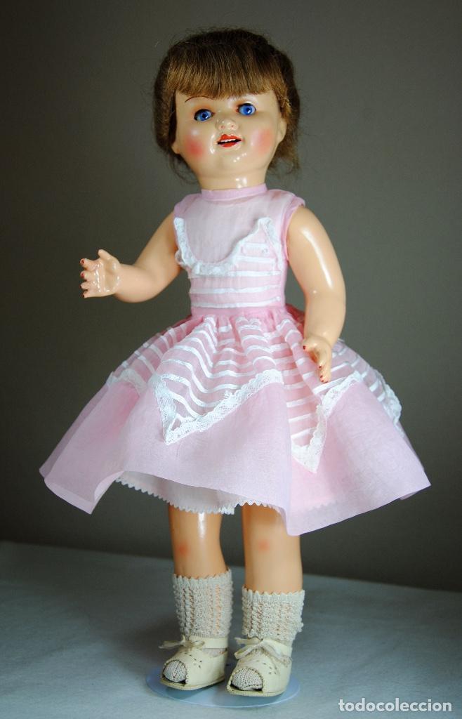 Muñeca española clasica: ANTIGUA MUÑECA LALI AÑOS 40 - Foto 3 - 100972087