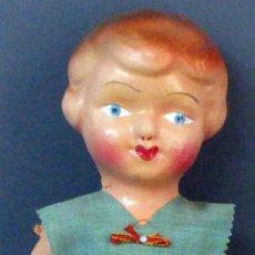 Muñeca española clasica - Pepona muñeca cartón piedra articulada ropa original años 30 - 40 32 cm alto - 101994743