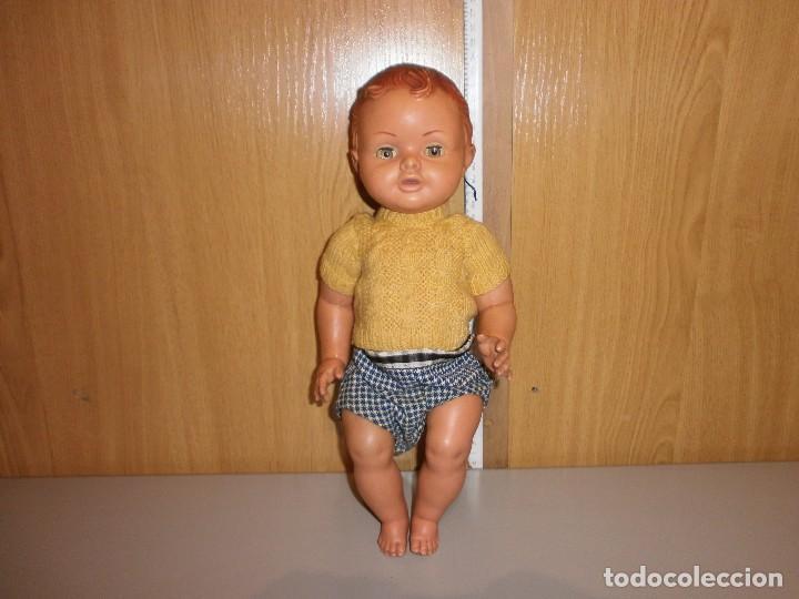 Muñeca española clasica: antigua muñeca muñeco de plastico a identificar mide 34 cm - Foto 2 - 102366547