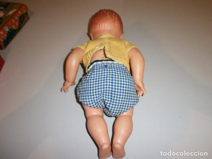 Muñeca española clasica: antigua muñeca muñeco de plastico a identificar mide 34 cm - Foto 3 - 102366547
