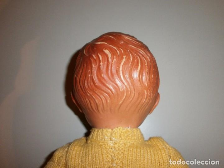Muñeca española clasica: antigua muñeca muñeco de plastico a identificar mide 34 cm - Foto 4 - 102366547