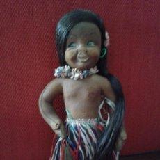 Muñeca española clasica: MUÑECA HAWAIANA DE CAUCHO ,INDUSTRIA LANCO,(DIFICIL DE ENCONTRAR) AÑOS 50. Lote 102542675
