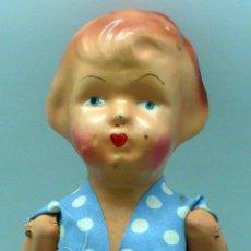 Classic Spanish Dolls - Pepona muñeca cartón piedra articulada ropa original años 30 - 40 32 cm alto - 102609831