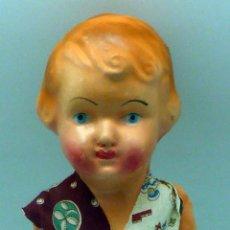 Muñeca española clasica - Pepona muñeca cartón piedra articulada ropa original años 30 - 40 32 cm alto - 102609919