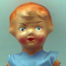 Muñeca española clasica - Pepona muñeca cartón piedra articulada ropa original años 30 - 40 32 cm alto - 102611083