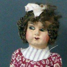 Muñeca española clasica: MUÑECA POPULAR TRAPO ROPA ORIGINAL AÑOS 20 - 30 24 CM ALTO. Lote 102703179