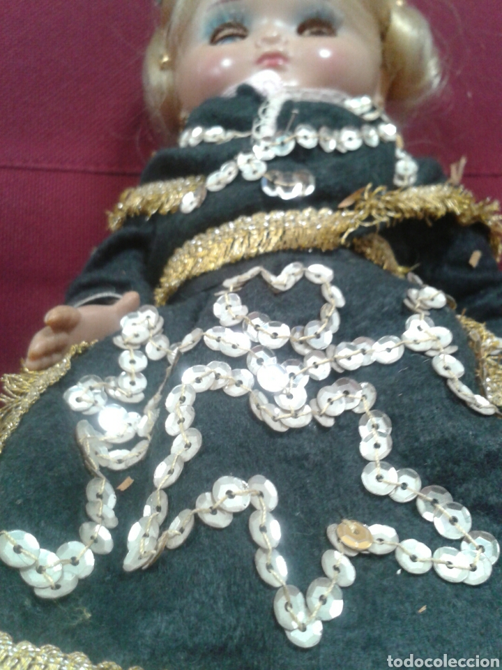 Muñeca española clasica: MUÑEQUITA OJOS DURMIENTE - Foto 6 - 102968271