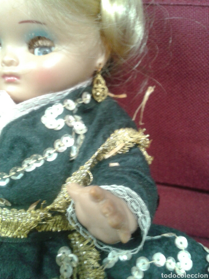 Muñeca española clasica: MUÑEQUITA OJOS DURMIENTE - Foto 9 - 102968271