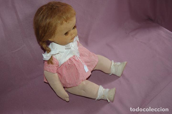 Muñeca española clasica: rubita de florido - Foto 3 - 103113807