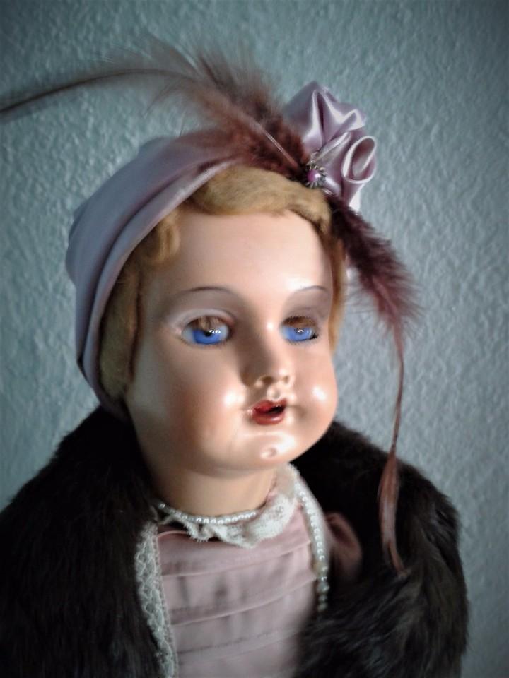 Muñeca española clasica: PRECIOSA MUÑECA CATALANA ,AÑOS 20 ,ANDADORA . - Foto 2 - 103645171