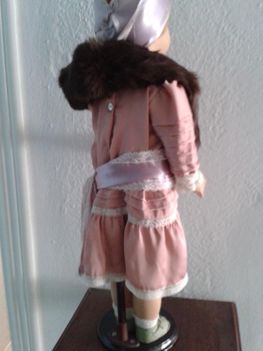 Muñeca española clasica: PRECIOSA MUÑECA CATALANA ,AÑOS 20 ,ANDADORA . - Foto 4 - 103645171